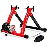 UNISKY Home Trainer Vélo Support Entraînement Magnétique à l'intérieur pour VTT et Vélo de Route avec Roue de réductrice du Bruit