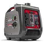 Groupe électrogène à onduleur portable à essence PowerSmart Series Inverter P2400 de Briggs & Stratton, alimentation propre 2400 watts/1800 watts, ultra silencieux et léger