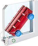 Tyroler Bright Tools Lave Vitre Magnétique The Glider D-3 AFC Double nettoyant intérieur et extérieur des vitres | Simple ou Double Vitrage 2-28mm | Force magnétique réglable