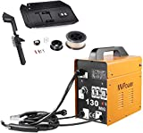 MVPower Poste à souder inverter MIG130, soudeuse à électrode, appareil de soudage professionnel, 120A 230V, poste à souder inverter avecfil