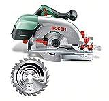 Scie circulaire Bosch - PKS 66 A (Livrée avec: CleanSystem Box, Lame de scie au carbure SpeedLine Wood, Butée parallèle).
