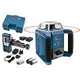Bosch Professional Laser rotatif GRL 400 H (Commande par bouton unique, Portée: 400 m (diamètre), coffret de transport)