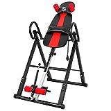 ONETWOFIT Table d'inversion, Machine d'inversion Pliante Robuste avec Dossier Confortable, Table d'inversion à Hauteur réglable pour Soulager la Douleur Musculaire, Supporte jusqu'à 150 kg OT257