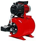 Einhell Groupe de surpression GC-WW 6538 (650 W, Hauteur d'aspiration 8 m, Câble d'alimentation 1,4 m, Interrupteur à pression, Livré avec manomètre)