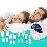 Améliorer Dispositifs Anti Ronflement, 8 Fixe Anti Ronflement Nez Vents Anti Ronflement Solution Snore Stopper Dilatateurs Nasaux Sommeil et Ronflements Advanced Snore Sommeil pour les Hommes Femmes