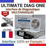 ULTIMATE DIAG ONE - Interface de diagnostic MULTIMARQUES – Version clé USB - Valise diagnostique auto multimarque en francais de SELF AUTO DIAG