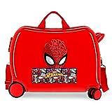 Marvel Spiderman Comic Valise pour enfant Rouge 50 x 38 x 20 cm Rigide 0 Fermeture à combinaison latérale 38 L 3 kg 4 bagages à main