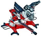 Einhell Scie à onglet radiale TC-SM 2131 Dual 5 (1800 W, Largeur de coupe maximale : 310 mm, Table pivotante, Sac à poussière)