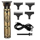 Tondeuse Electriques Hommes, Anself USB Tondeuse Cheveux Hommes Professionnelle avec LED Prompt Light, pour Usage Domestique et Salon de Coiffure Avec 3 Peignes de Guidage