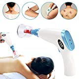 Aspirateur électrique Aspiration Ventouses Kit Drainage lymphatique Soulagement de la douleur Massage Cupping Set Soins de santé
