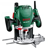 Dfonceuse Bosch - POF 1400 ACE (Livre avec set d'accessoires, rgulation lectronique constante, rglage de la profondeur de fraisage et clairage)