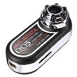 Mengshen HD 1080P 720P Mini Espion caméra cachée Thumb caméscope 170 degrés Vision Nocturne Infrarouge + détection de Mouvement DVR MS-QQ5