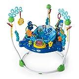 Baby Einstein, Aire d'Eveil à Rebonds Neptune's Ocean avec plus de 15 jouets et activités, musique et lumières, siège tournant à 360 degrés