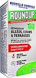Roundup Désherbant Concentré Allées Terrasses 800mL