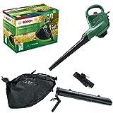 Aspirateur/Souffleur/Broyeur de feuilles Bosch - UniversalGardenTidy 2300 (2 300 W, sac de collecte de 45 L, vitesse variable, pour souffler, aspirer et broyer les feuilles, dans boîte carton)