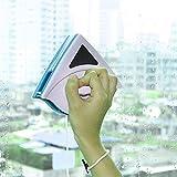 SAYOU® MagnéTique Brosse De Verre / FenêTre Nettoyant pour FenêTre / Nettoyeurs de Vitres pour Les FenêTres avec Une éPaisseur de 3-8mm