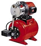 Einhell Groupe de surpression GC-WW 1046 N (1050 W, Réservoir de pression de 20 litres, Câble d'alimentation 1,5 m, Bouchon de purge, Pieds solides percés pour fixation au sol)