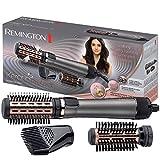 Remington Brosse Cheveux Rotative, Soufflante, Chauffante, Volume, Soin Kératine et Huile d'Amande - AS8810 Keratin Protect