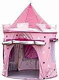 MaMaMeMo Enfants Princesse Pop Up Chateau - Tente Pop up Rose de Princesse- utilisable  l'intrieur ou  l'extrieur grce  sa Protection Anti-UV: Filles Rose Jouet Tente