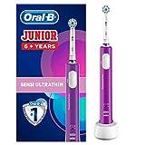 Oral-B Junior Brosse à Dents Électrique Rechargeable pour Enfants de 6Ans et Plus, Violette