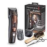Remington MB4045 Coffret Rasage Beard Kit, Tondeuse Barbe, Lames Titanium Auto-Afftes, Sabots Ajustables, Batterie Lithium