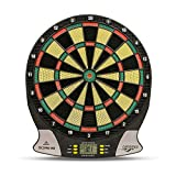 Carromco Electronic Dart Board Score 2nd Generation 92016 Mixte Adulte, Black, Red, Green, Yellow