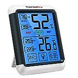 ThermoPro TP55 Thermomtre Numrique Hygromtre Intrieur Indicateur D'humidit avec Grand cran Tactile et Rtroclairage Jauges de Temprature et D'humidit