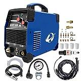 Coupeur De Plasma,CUT50 220V/240±15% AC-DC Électrique Inverter 50Air Plasma Machine De Découpage Metal Cutter(La machine a une prise)