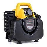 GOPLUS lectrogne Inverter Portable Silencieux  Essence-avec 3,5L Rservoir dEssence - Gnrateur de Courant de Secours-1000W 230V 50HZ -32 x25 x 33 CM