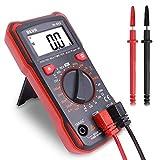 BEVA Multimètre Numérique Vrai RMS avec NCV le Multimètre Digital Portable Contrôleur Universel le Testeur Electrique Automatique Constitué de Voltmètre, Ampèremètre et Ohmmètre, avec Ecran LCD