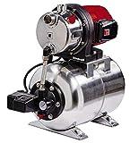 Einhell Groupe de surpression GC-WW 1250 NN (1200 W, Hauteur de refoulement 50 m, Hauteur d'aspiration 8 m, Pression 5 bar, Pression de dmarrage max. 1,5 bar)