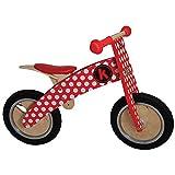 Kiddimoto - 916/606 - Vlo et Vhicule pour Enfant - Kurve Red Dotty