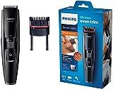 Philips BT5200/16 Tondeuse Barbe avec lames en mtal et peigne intgr, noir