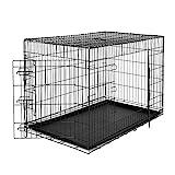 dibea Cage de transport pour chien pliable avec portes tailles différentes