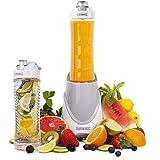Duronic BL3 /W Blend & Go Blender/Mixeur à smoothie de 300W avec 2 Bouteilles de 600ml sans BPA