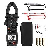 Pince Amperemetrique Meterk 6000 Compteurs sans Contact Multimètre Plage Automatique AC/DC Tension AC Courant Résistance Capacité Fréquence Diode Hz Test