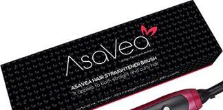 Brosse Lissante Chauffante AsaVea 1