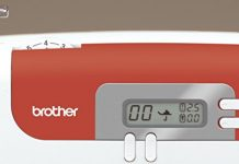 Brother CS10VM1 Machine à Coudre électronique écran